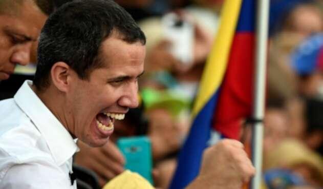 Juan Guaidó, presidente interino de Venezuela, en Barinas, el primero de junio de 2019