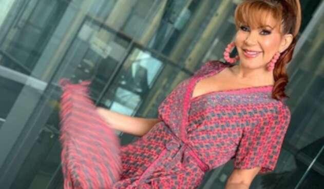 La actriz desempolvó un video de su paso por el Reinado Nacional