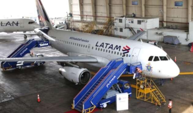 Avión de Latam Airlines