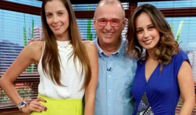 Laura Acuña, Jota Mario Valencia y Milena López en Muy Buenos días, del Canal RCN