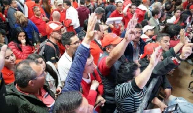 El Partido Liberal en Bogotá hizo consulta por los ediles en las localidades.