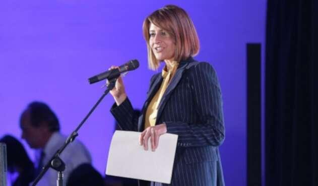 María Lucía Fernández, periodista colombiana.