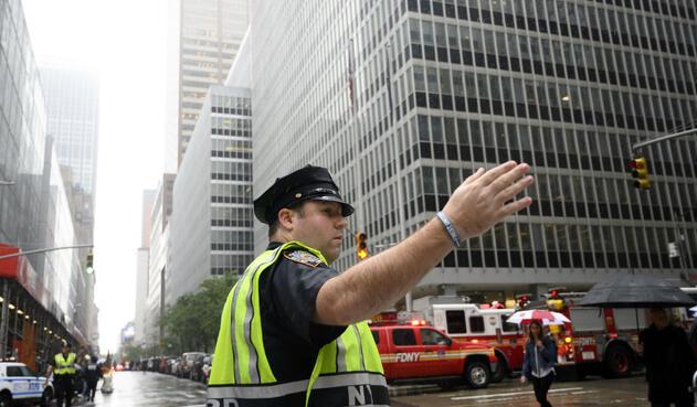 Accidente de helicóptero en Manhattan