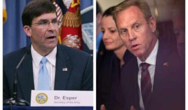 Mark Esper reemplazará a Patrick Shanahan en el Pentágono