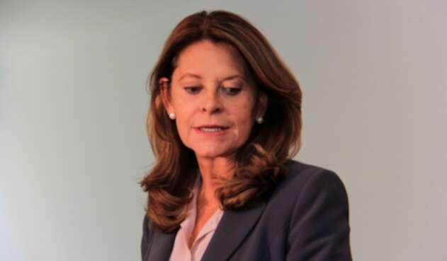 Marta Lucía Ramírez, vicepresidenta de la República