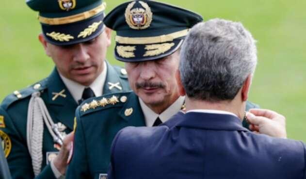 Nicacio Martínez recibió el cuarto sol que lo asciende a general pleno.