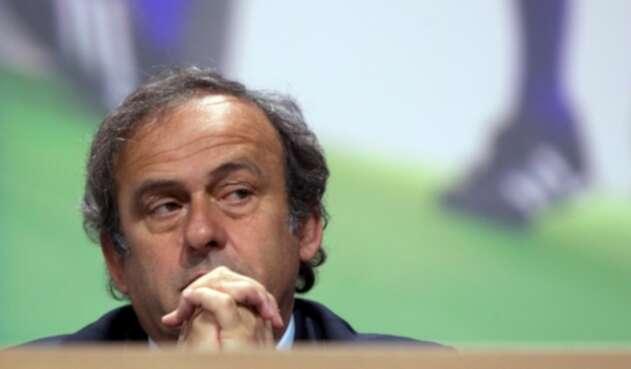 Michel Platini, expresidente de la UEFA