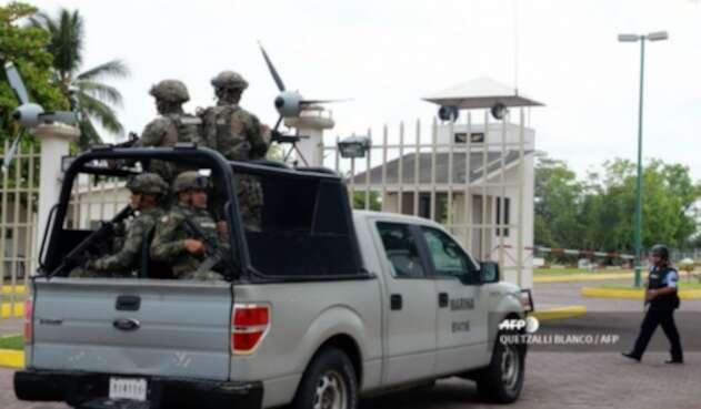 Militares mexicanos fueron desplegados a frontera con Guatemala