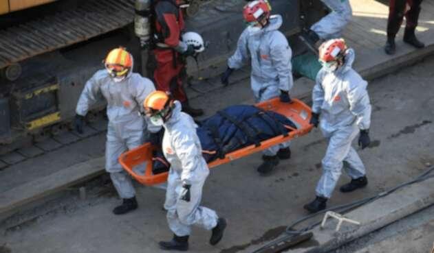 Muertos en naufragio