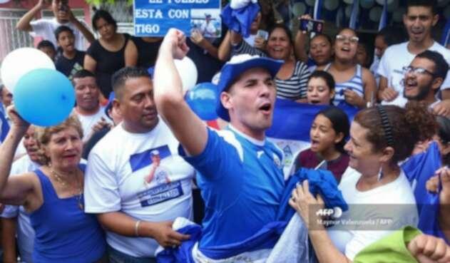 Líder estudiantil Edwin Carcache fue liberado en Nicaragua
