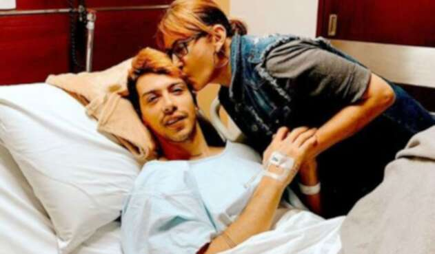 Gabo, de Pasabordo, hospitalizado