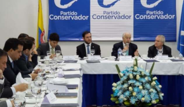 Expresidente Andrés Pastrana en el Partido Conservador