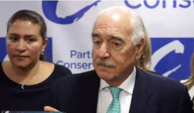 Andrés Pastrana, Partido Conservador