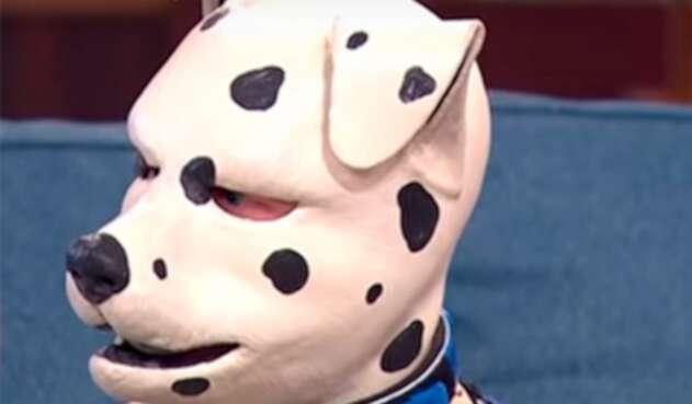 Tom Peters en su rol de perro dálmata