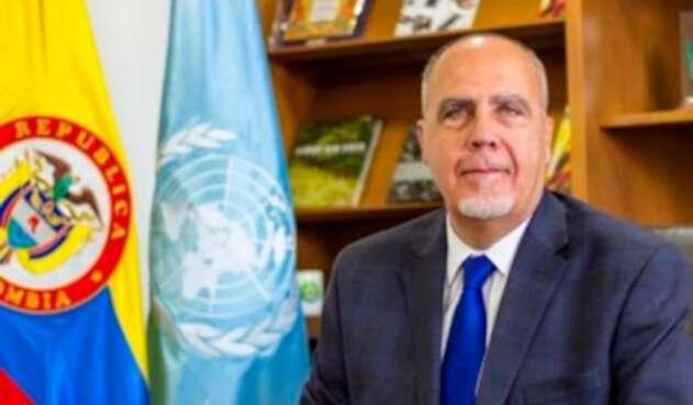 Pierre Lapaque, representante de la Oficina de las Naciones Unidas contra la Droga y el Delito