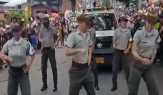 Policías de Ibagué