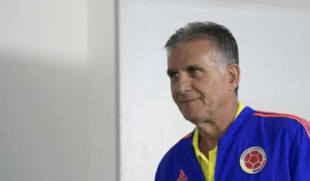 Carlos Queiroz, DT de la Selección Colombia.