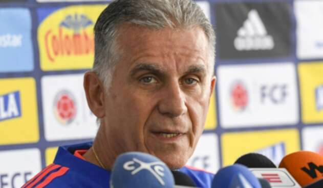 Carlos Queiroz, Selección Colombia