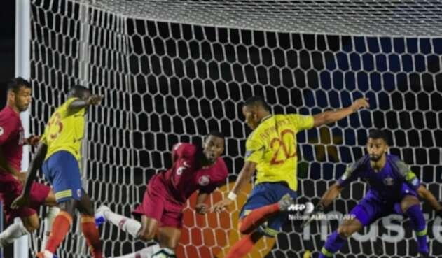Roger Martínez en la Selección Colombia