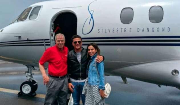 Silvestre Dangond con su nuevo avión