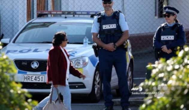 Policía en Nueva Zelanda