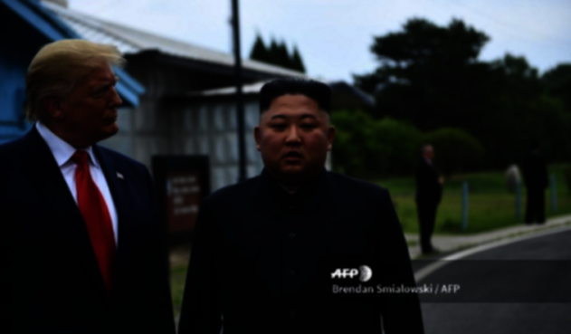 Reunion Trump y Kim Jong un