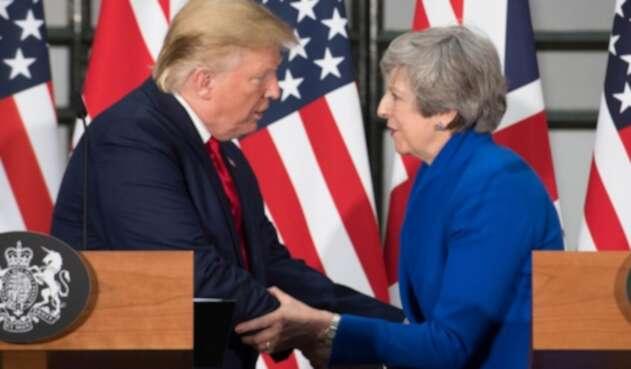 Trump y Theresa May