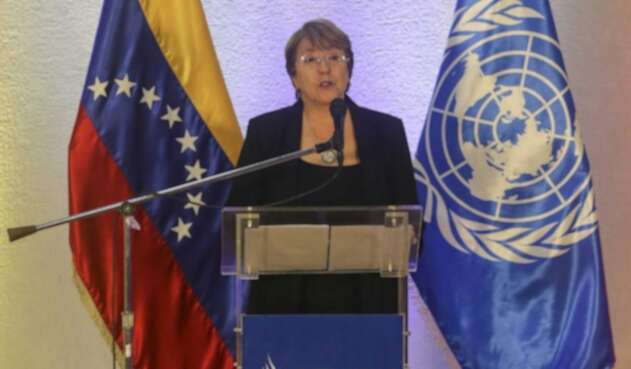 La alta comisionada de la ONU para los Derechos Humanos, Michelle Bachelet.