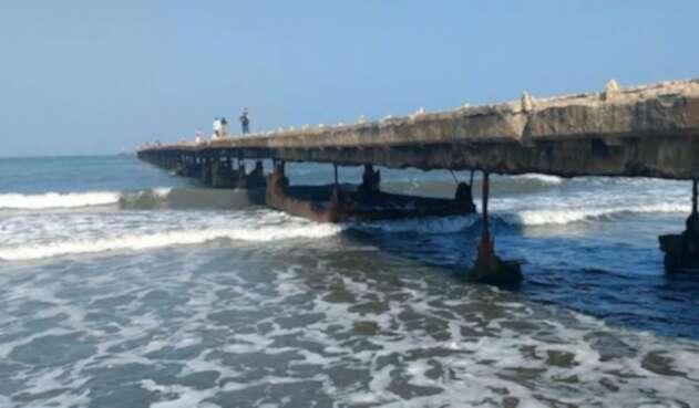Muelle de Puerto Colombia será demolido para su reconstrucción.