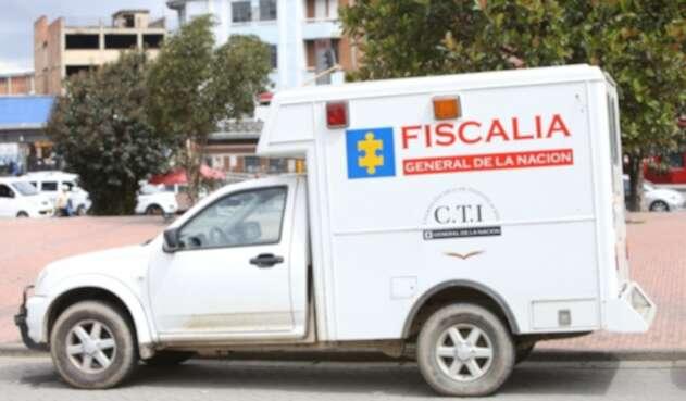 Vehículo de Fiscalía