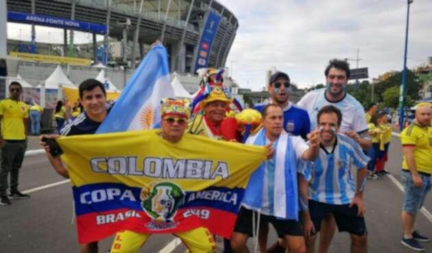 Colombia vs Argentina, Copa América