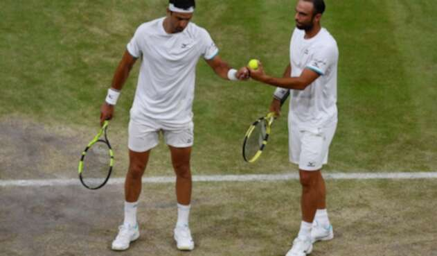 Juan Sebastián Cabal y Robert Farah ganadores en Wimbledon