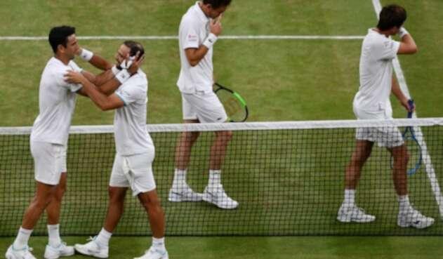 Cabal y Farah campeones en Wimbledon
