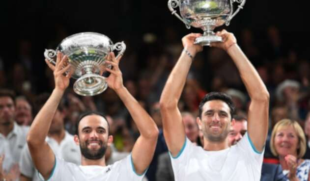 Juan Sebastián Cabal y Robert Farah triunfanen Wimbledon