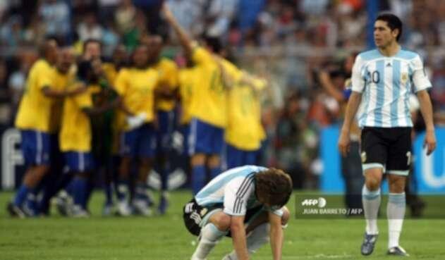 Resultado de imagen para 2007 BRASIL CAMPEON ANTE ARGENTINA