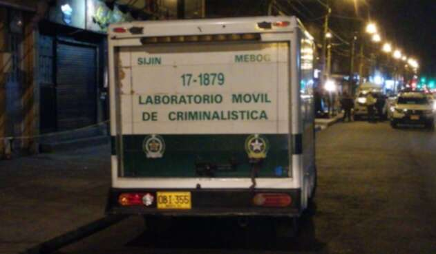 Laboratorio móvil de criminalística
