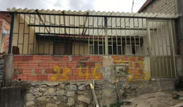 Casa de pique en Soacha