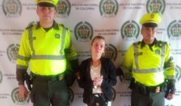 Presunta estafadora capturada por la Policía Valle
