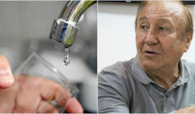 Suministro del líquido
