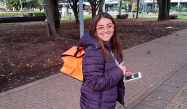 Alejandra Uribe, periodista de LA FM en Bogotá