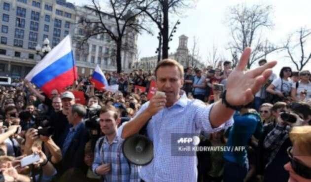 Opositor ruso, Alexei Navalni