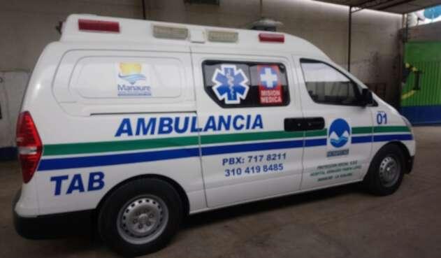 ambulancia fue atracada mientras trasladaba a menor con desnutrición a Maicao