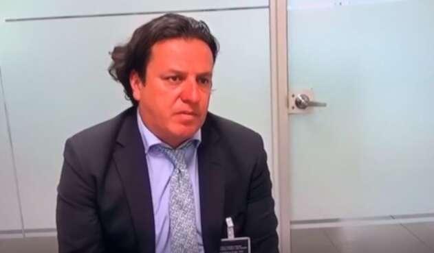 El polémico empresario Andres Sanmiguel.