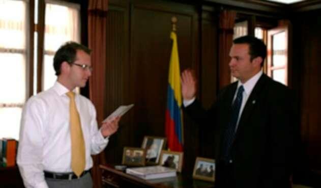 Andrés Felipe Arias y Andrés Darío Fernández Acosta
