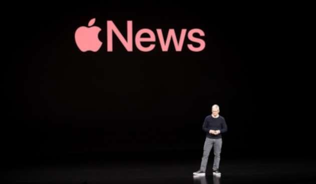 Tim Cook, CEO de Apple, en Cupertino (California)