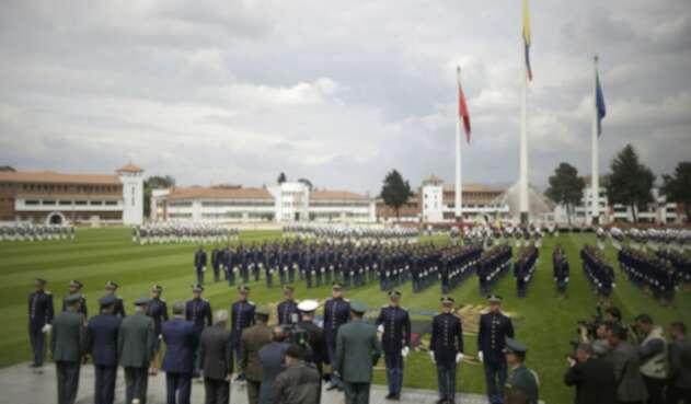 Ceremonia de ascensos en el Ejército