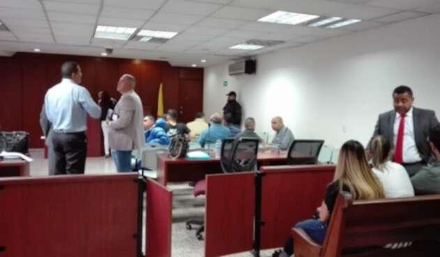 Audiencia por presunta corrupción en la Cuarta Brigada del Ejército.