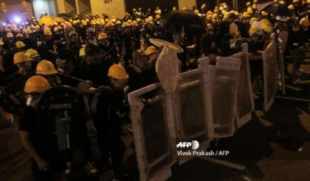Hong Kong manifestaciones