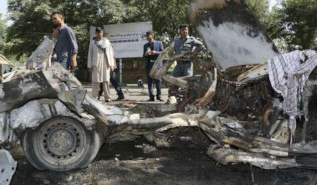 Ataque bomba en Kabul