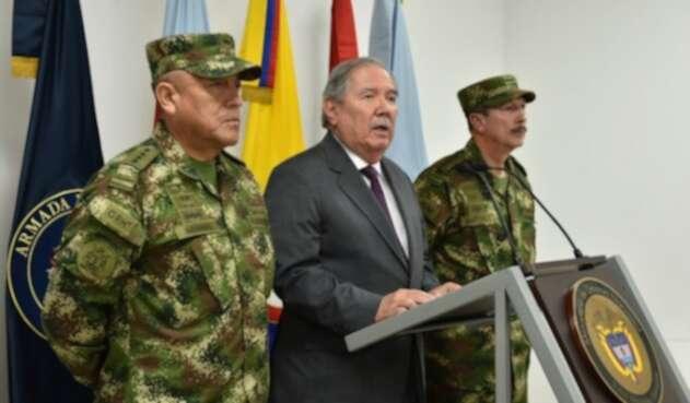 Guillermo Botero, ministro de Defensa